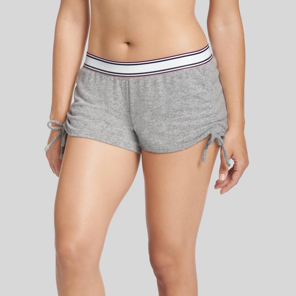 Image of Jockey Generation Women's Retro Vibes Sleep Pajama Shorts - Gray L, Women's, Size: Large