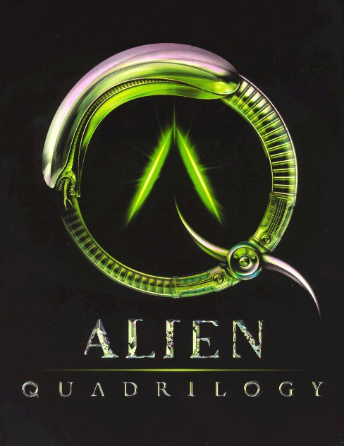 Alien Quadrilogy: Alien/Aliens/Alien3/Alien Resurrection (9 Discs) (Widescreen) - image 1 of 1