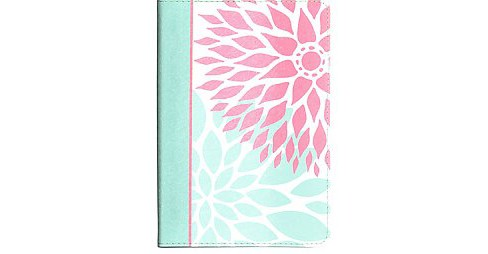 Holy Bible : New King James Version, Ultrathin for Teens, Green Blossoms, Leathertouch (Compact) - image 1 of 1