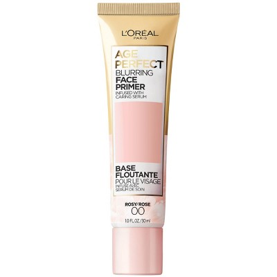L'Oreal Paris Age Perfect Blurring Face Primer Infused with Serum - Rosy - 1 fl oz