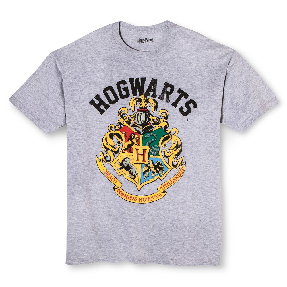 Men's Harry Potter T-Shirt Gray 4XL T, Size: 4XL Tall, Athletic Heather