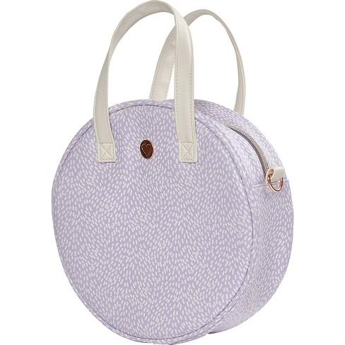 Designlovefest RFID Bag - Lavender/Navy - image 1 of 4