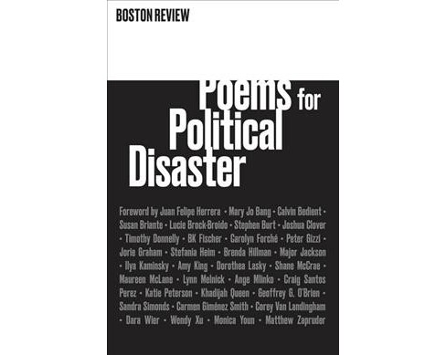 Poems for Political Disaster -  (Paperback) - image 1 of 1