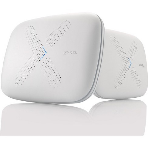 ZyXEL Multy X IEEE 802.11ac Ethernet Wireless Router - 2.40 GHz ISM Band - 5 GHz UNII Band - 9 x Antenna(9 x Internal) - 375 MB/s Wireless Speed - image 1 of 4
