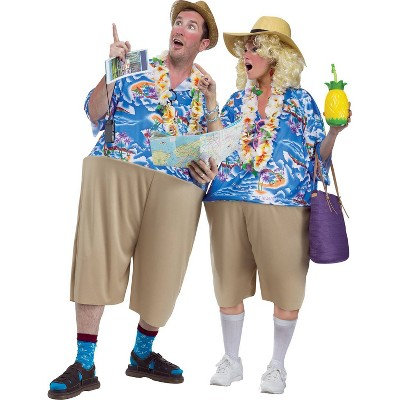 Adult Tacky Tourist Costume - One Size