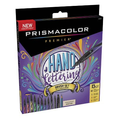 13ct Hand Lettering Brush Set - Prismacolor