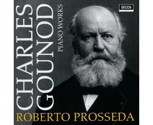 Roberto Prosseda - Gounod:Piano Works (CD) - image 1 of 1