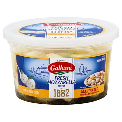 Galbani Fresh Marinated Mozzarella Cheese - 12oz