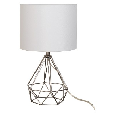 Geo Wire Lamp Silver (Lamp Only)- Project 62™