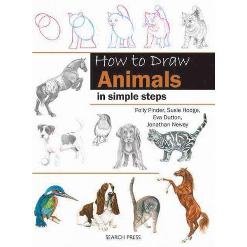 how to draw animals in simple steps paperback target