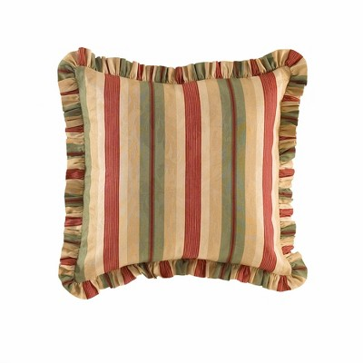 Waverly Laural Springs Euro Pillow Sham Parchment