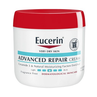 Body Lotions: Eucerin Advanced Repair Cream