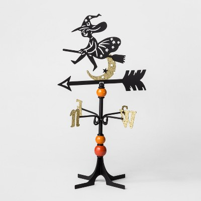 Halloween Metal Witch Weather Vane - Hyde and Eek! Boutique™
