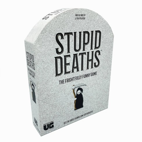 Stupid Deaths Board Game - image 1 of 4