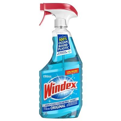 Windex Glass Cleaner Original Blue Spray - 26 fl oz