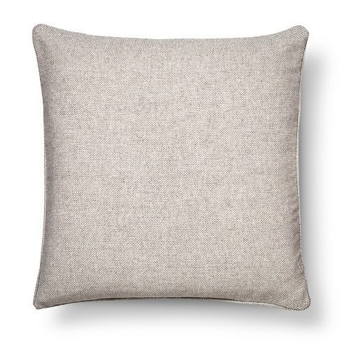 "Light Gray Herringbone Throw Pillow (18""x18"") - The Industrial Shop™ - image 1 of 1"