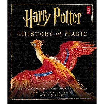 Harry Potter : A History of Magic - (Hardcover)