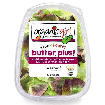Organic Girl True Hearts Butter, Plus! Lettuce - 4oz