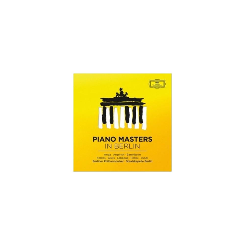 Various - Piano Masters In Berlin:Great Concert (CD)