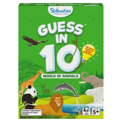 Skillmatics Guess in 10 World of Animals Card Game - image 1 of 4