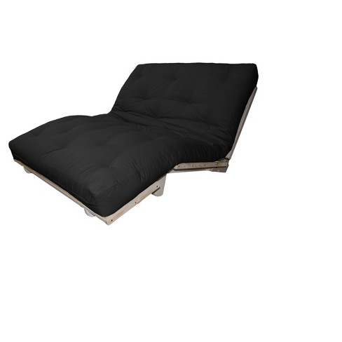 Austin Au Natural 8 Loft All Cotton Filled Sit Lounge Or Sleep Futon Sofa Sleeper Bed Twill Fabrics N