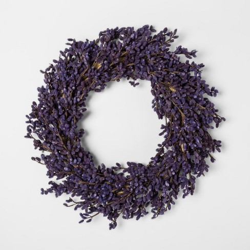 Lavender Wreath 21in - Smith & Hawken™ - image 1 of 1
