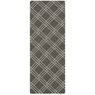 1'6 X4' Geometric Doormats Gray - Mohawk