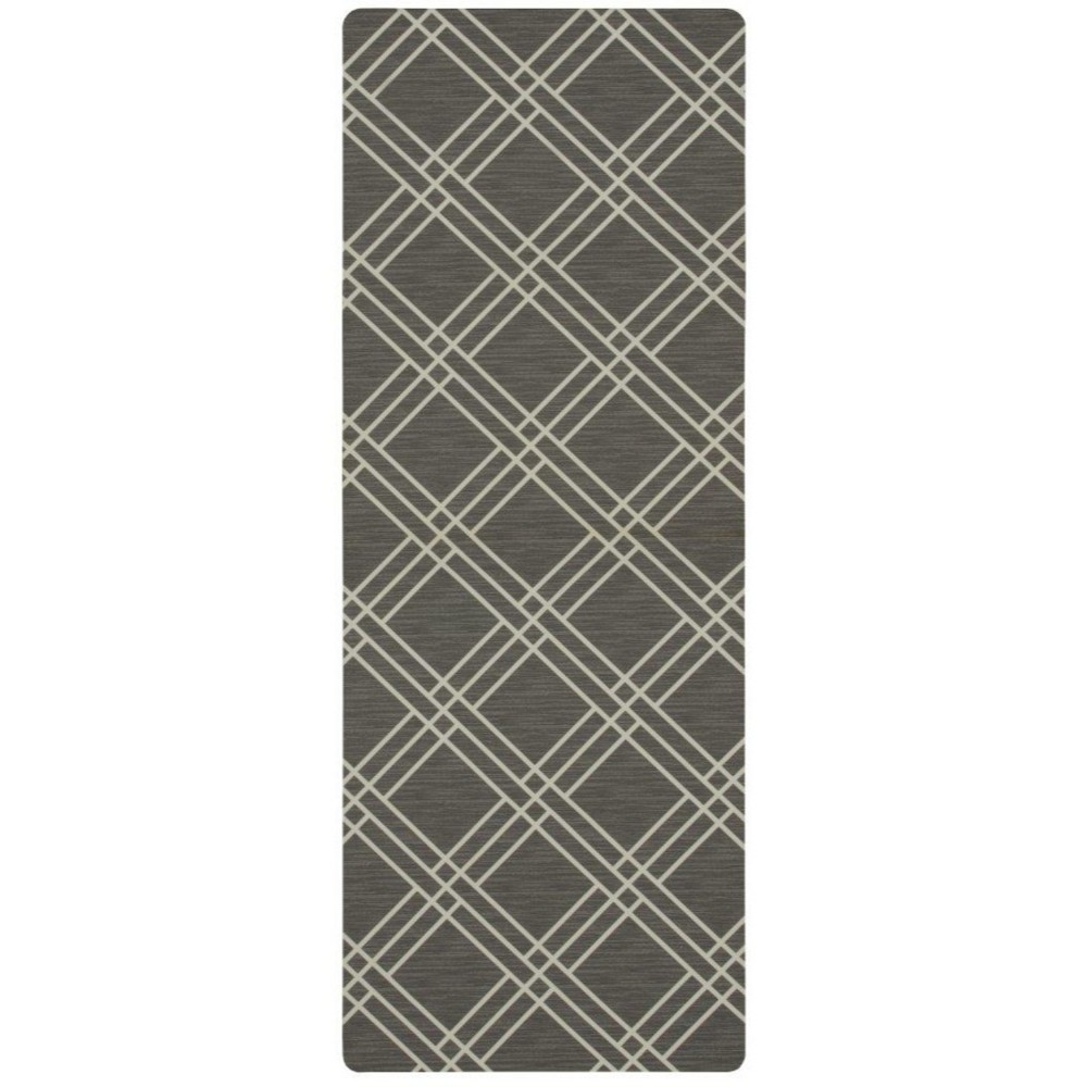 Image of 1'6X4' Geometric Doormats Gray - Mohawk