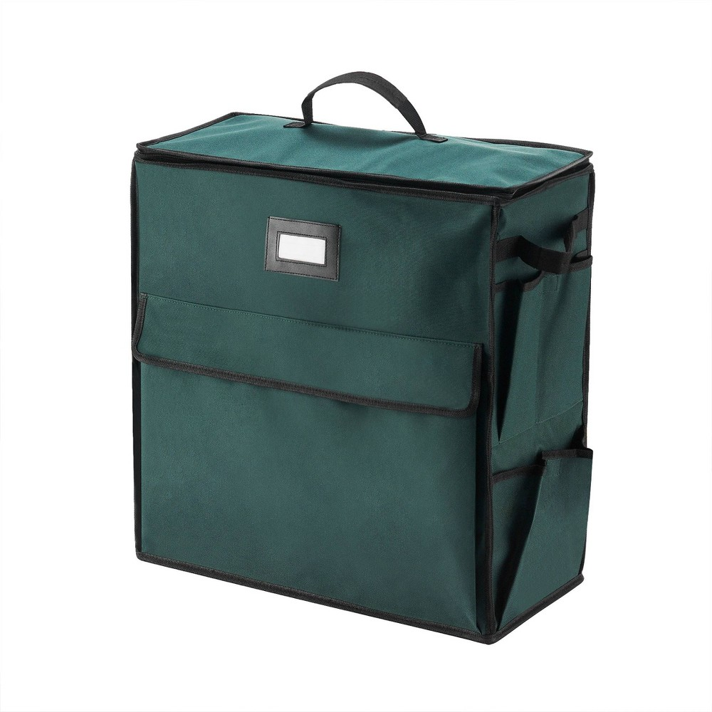 Ultimate Gift Bag Organizer Holiday Storage for Gift Wrap and Bags Green - Elf Stor