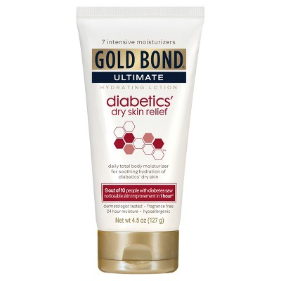 Body Lotions: Gold Bond Diabetics' Dry Skin Relief