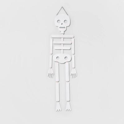 Skeleton Wood Porch Halloween Sign - Hyde & EEK! Boutique™