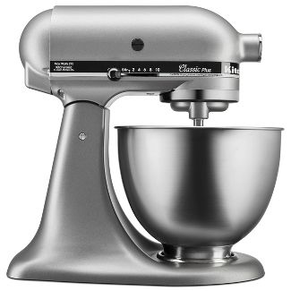 KitchenAid Classic Plus 4.5qt Stand Mixer Silver KSM75