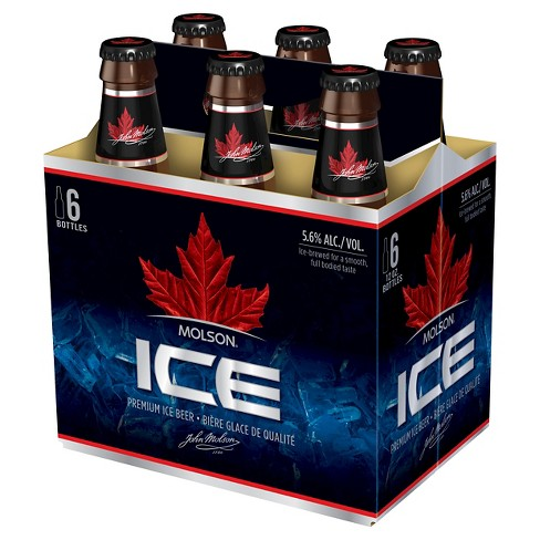Molson® Ice Beer - 6pk / 12oz Bottles - image 1 of 1