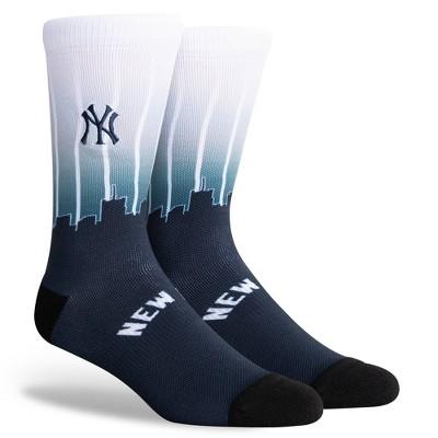 MLB New York Yankees Sky Crew Socks - L
