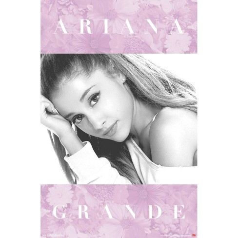 """34""""x23"""" Ariana Grande Floral Unframed Wall Poster Print - Trends International - image 1 of 2"""