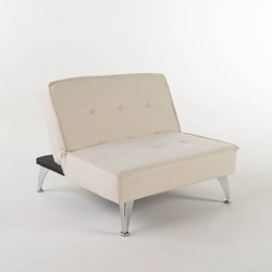 Gemma Sofa Bed - Ivory - Christopher Knight Home