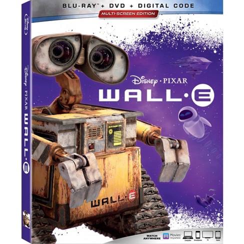 Wall-E (Blu-Ray + DVD + Digital) - image 1 of 1