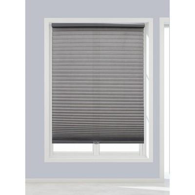 Linen Avenue Cordless Cellular Light Filtering Shade, Dark Gray