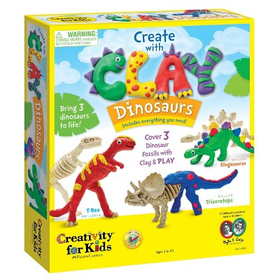 Create with Clay Dinosaurs - Creativity for Kids