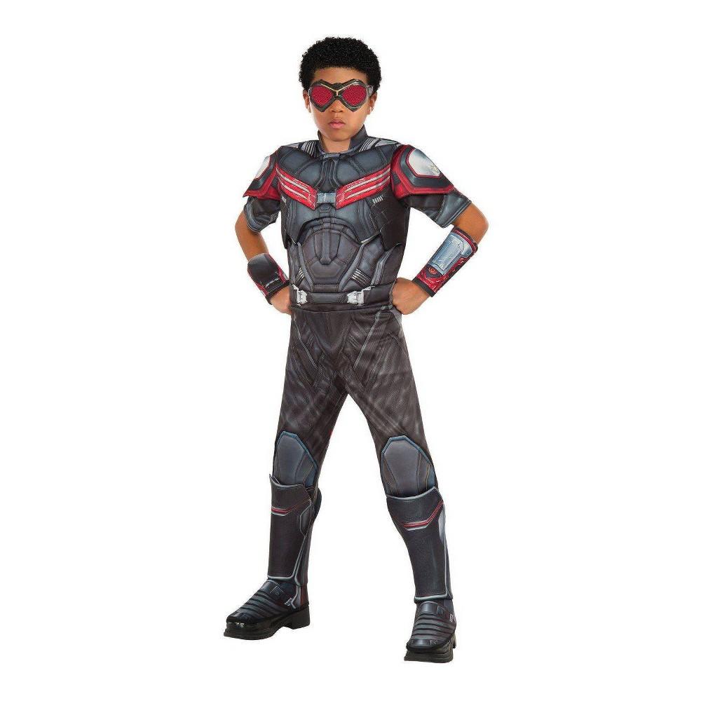 Image of Halloween Boys' Marvel Avengers Falcon Deluxe Halloween Costume M, Boy's, Size: Medium, MultiColored