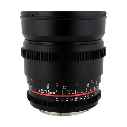 Samyang 16mm T2.2 Wide Angle Cine Lens for Canon EF - image 1 of 4