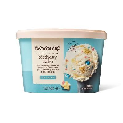 Birthday Cake Ice Cream - 48oz - Favorite Day™