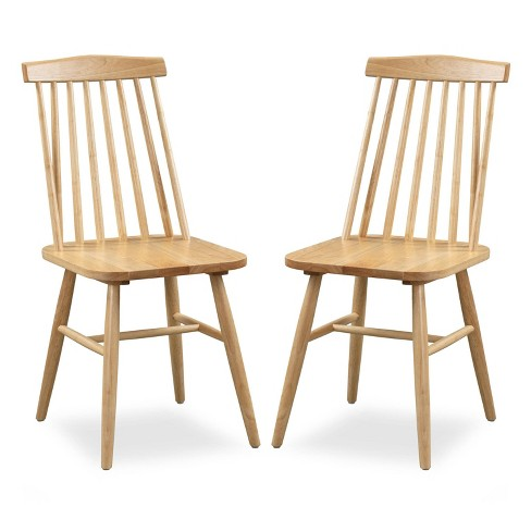 Set of 2 Set Claude Dining Chair Natural - Poly & Bark - image 1 of 4