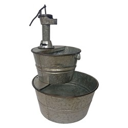 """32""""H Outdoor Fountain - Gray - Backyard Expressions"""