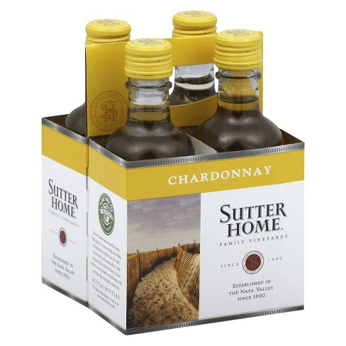 Sutter Home® Chardonnay - 4pk / 187mL Bottle - image 1 of 1