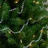 """Northlight 33' x 0.25"""" Shiny Clear Iridescent Beaded Artificial Christmas Garland - Unlit - image 3 of 3"""