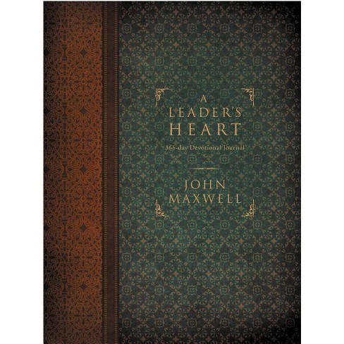 A Leader's Heart - by  John C Maxwell (Hardcover) - image 1 of 1