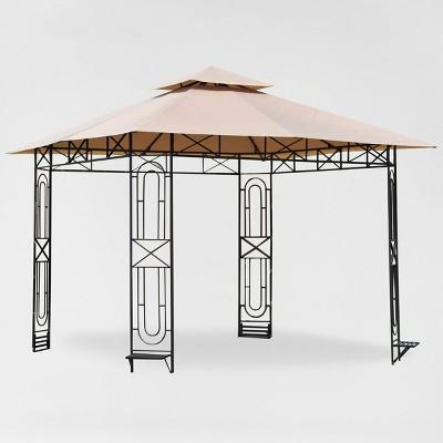 Gardenscape Gazebo Replacement Canopy Riplock Beige - Garden Winds