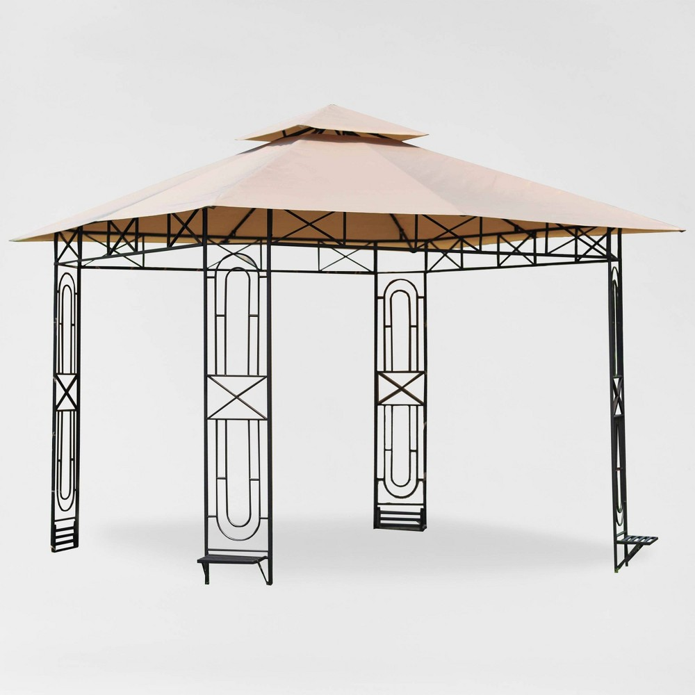 Image of Gardenscape Gazebo Replacement Canopy Riplock Beige - Garden Winds