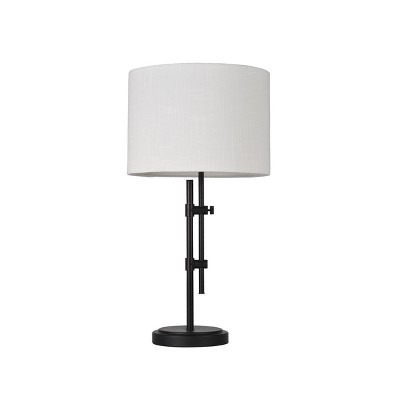 Knox Shaded Table Lamp Black (Includes LED Light Bulb)- Threshold™